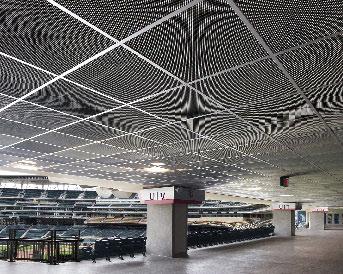 facility management interiors ceilings acoustics sports park