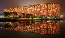 Beijing national stadium; Architect: Herzog & de Meuron, ArupSport, China Architectural Design & Research Group. (Photo: WikiCommons.)