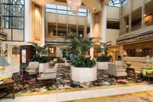 Hilton Los Angeles Lobby
