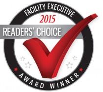 Facility Executive 2015 Readers' Choice Award logo