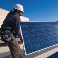 American University Solar Panel.