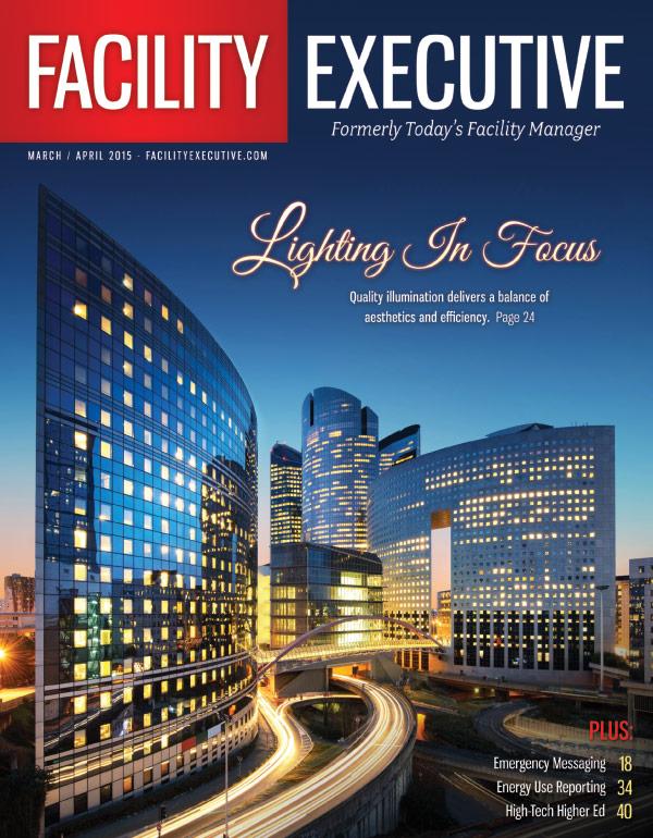 Cover March/April 2015 Facility Executive.