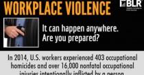 FM Alert: Workplace Violence Infographic.