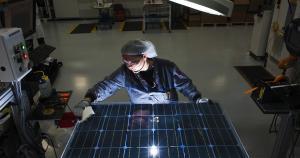 University of Richmond Bisun Solar Panels