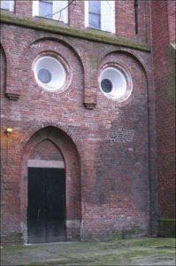 building face