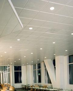 ROCKFON Planostile metal ceiling panels