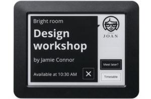 digital door label