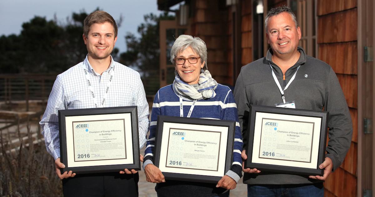 ACEEE Honors Energy Efficiency Champions