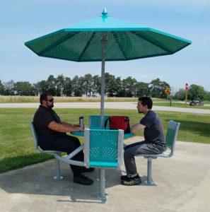 shade table