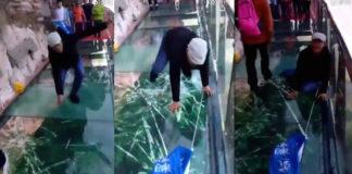 China glass walkway