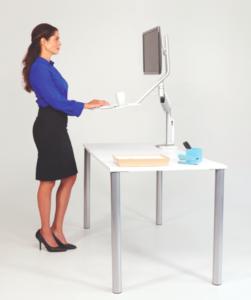 sit-stand workstation
