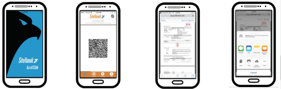 SDS mobile app