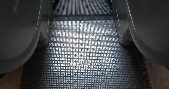 Otis escalators