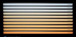 white light selection