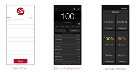 Bluetooth motion sensor