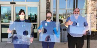 intubation shields